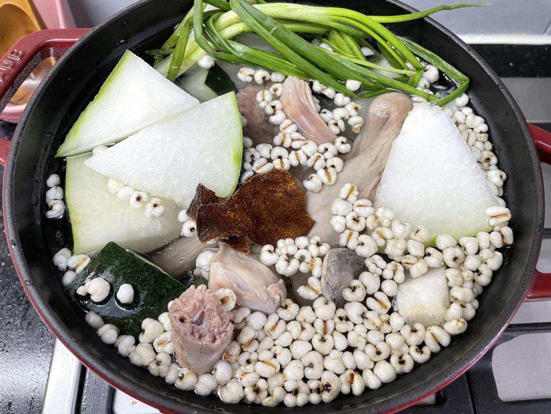 冬瓜薏米水鸭湯